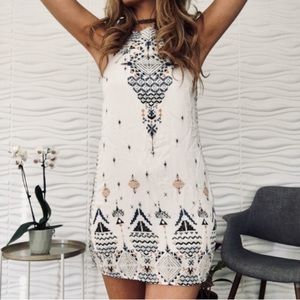 Urban outfitters printed dress